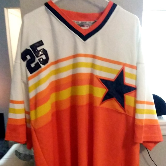 competitive price f2e2c a9cdc Houston Astros Throwback Jersey